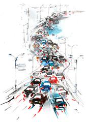 automobile route