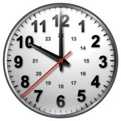 10 bw clock