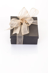 gift box on white