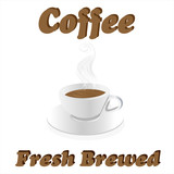Fresh Brewed Coffee
