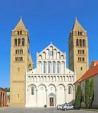 Basilica of St. Peter - Pecs, Hungary. UNESCO World Heritage poster