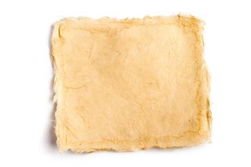 Büttenpapier-Zettel