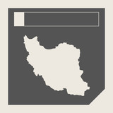 Iran map button
