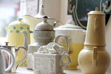 Teapots collection Chartres France