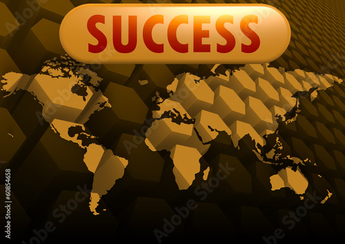 Success world map