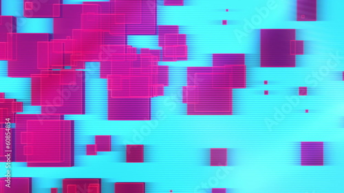 Geometric Color Strobe VJ Loop animated background