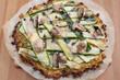 canvas print picture - Gesunde Pizza mit Gemüse