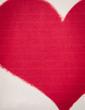 Vintage valentine's note paper heart