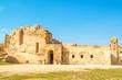 North Theater in the ancient Jordanian city of Jerash, Jordan