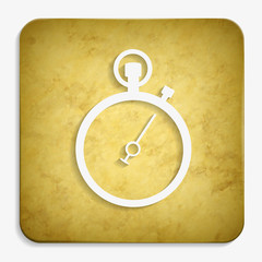 stopwatch parchment icon