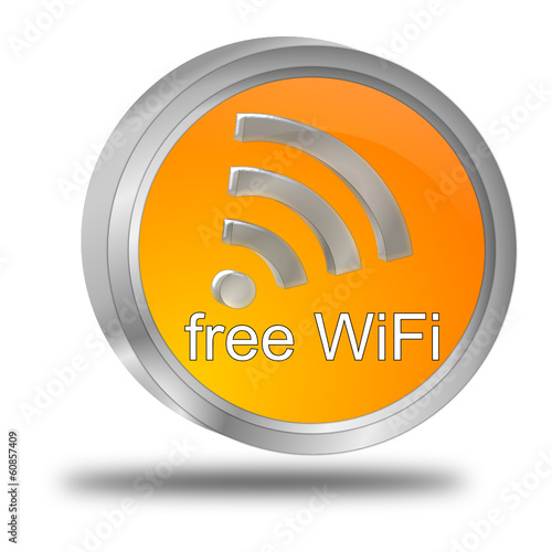 free WiFi Wlan Button