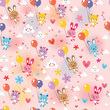 bunnies and bears pattern