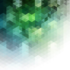 Abstract natural mosaic background