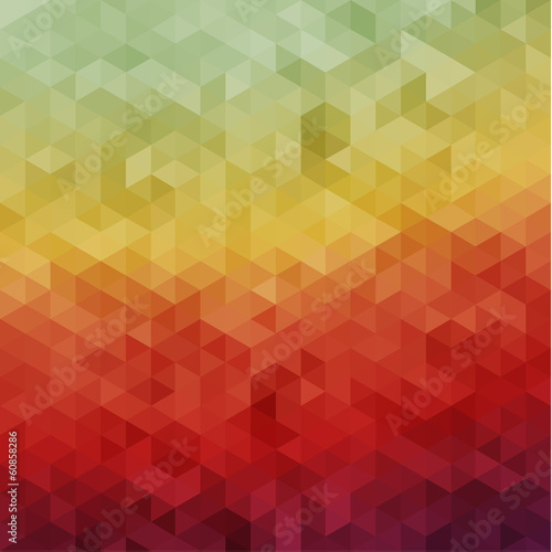 Mosaic colorful natural background