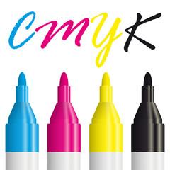 Textmarker CMYK