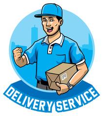 courier man service