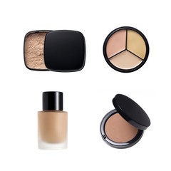 Collection of various make up powder