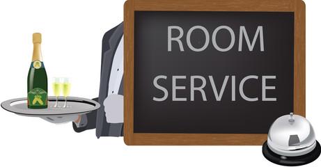 servizio in camera