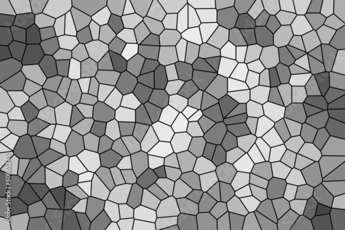 Abstract texture of a gray mosaic