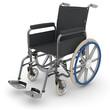 Leerer Rollstuhl