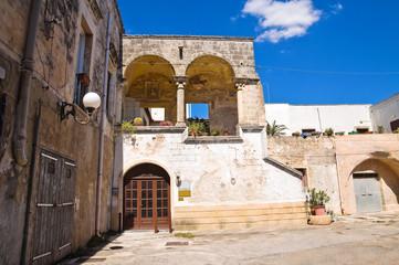 Palace of Commanders. Maruggio. Puglia. Italy.