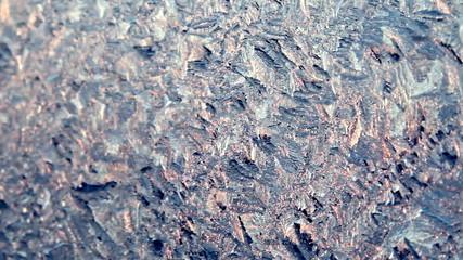 Frosty pattern depth of field