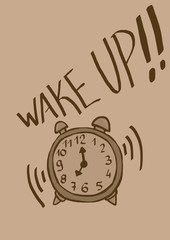 wake up vintage