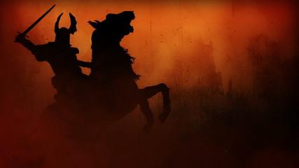 CG Battlefield W/4 battle scenes(silhouettes) Ver 2.0