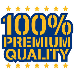 100 Procent Premium Quality Design
