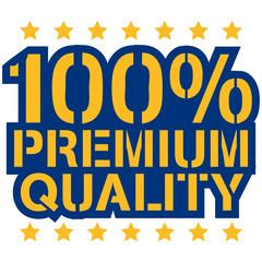 100 Procent Premium Quality Design