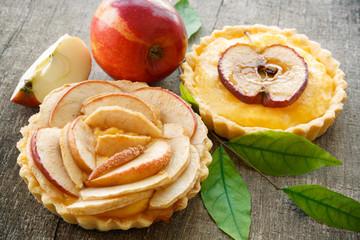tartes aux pommes