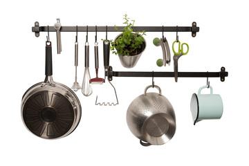 Küchenwand - Pfanne