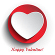 Happy Valentine gift card