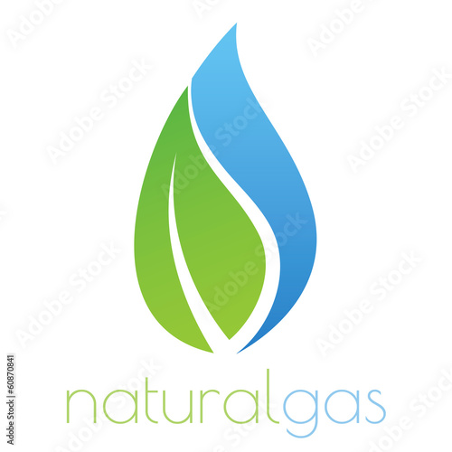 Natural gas logo