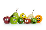 Fruit cartoon characters