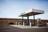 USA gas station