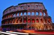 Flavian Amphitheatre or Coliseum in Rome, Italy