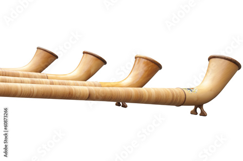 Isolated Alphorns in Switzerland - 60873266
