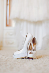 Shoes in Bride's Room