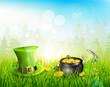 St. Patrick's Day background - 60874465