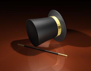 Zylinder Chapeau Claque BG