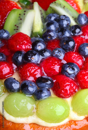 .Fruit cake Close up
