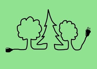 green plug