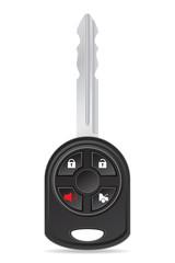 car key vector illustration