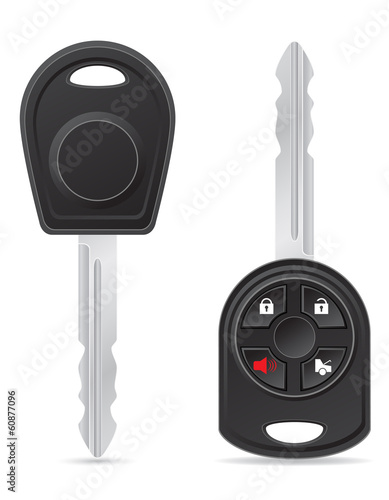 car key vector illustration