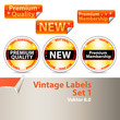Vintage Labels Set 1