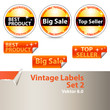 Vintage Labels Set 2