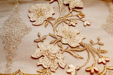 Golden textile