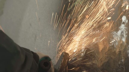 Sparks from the metal_1