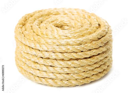 Leinwanddruck Bild The rope